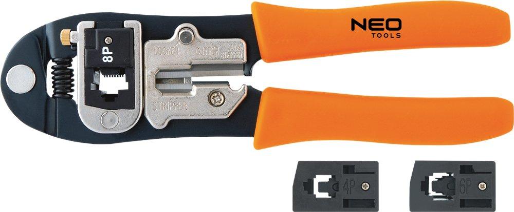 6P Neo Crimpzange f/ür Telefonstecker 4P 01-501 8P
