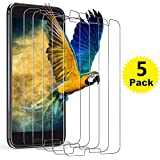HTC 10 Screen Protector, [5-Pack] BlingFilm Compatible HTC 10 [ Tempered Glass ] Screen Protector [Value-Pack]