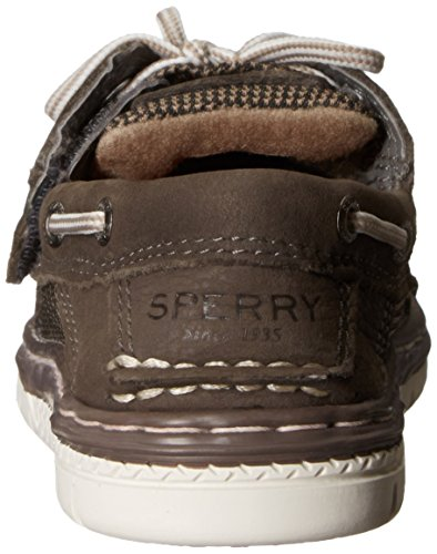Sperry Billfish Sport Alternative Closure Boat Shoe (Toddler/Little Kid) Truffle