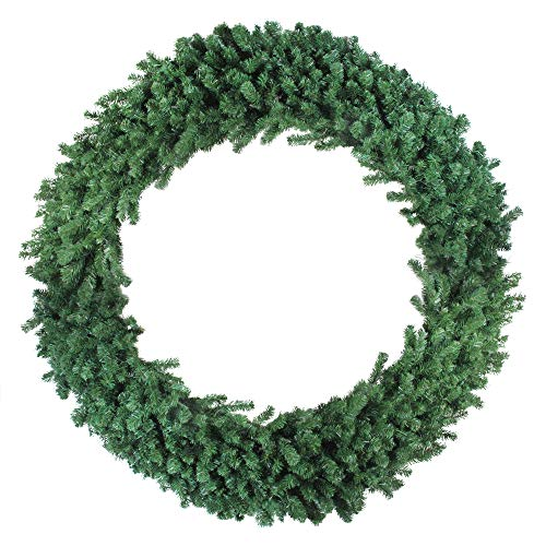 ndsor Pine Artificial Christmas Wreath – 60-inch, Unlit ()