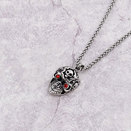 hip-hop-newest-carved-grining-skull-red-rhinestone-eyes-necklaces-mens-boys-316l-stainless-steel-sku