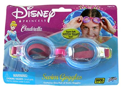 3b46380a0e7 Image Unavailable. Image not available for. Color  Disney Princess Swimming  Accessory - Cinderella goggles
