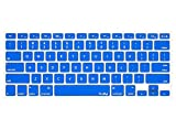 Kuzy - BLUE Keyboard Cover Silicone Skin for MacBook Pro 13