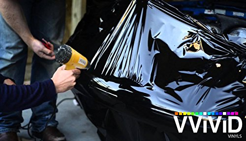 VViViD Professional Heat Gun Automotive Vinyl Wrap Tool Including Precision Nozzle and 3M Toolkit (Incl. Digital readout, Nozzle & Toolkit) by VViViD (Image #2)