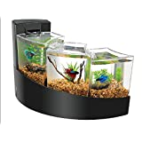 "Aqueon Betta Falls Kit, Negro, 16.93"" x 10.95"" x 11.42"""
