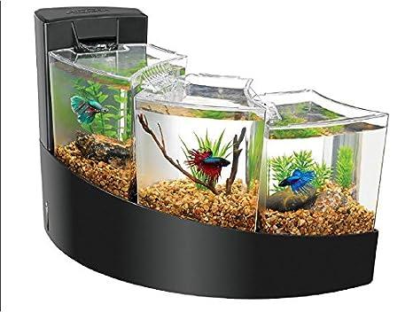89849a7dc51 Amazon.com   Aqueon Betta Falls Kit Black   Pet Supplies