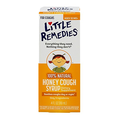 Little Remedies Honey Cough Syrup, 4 Fluid Ounce