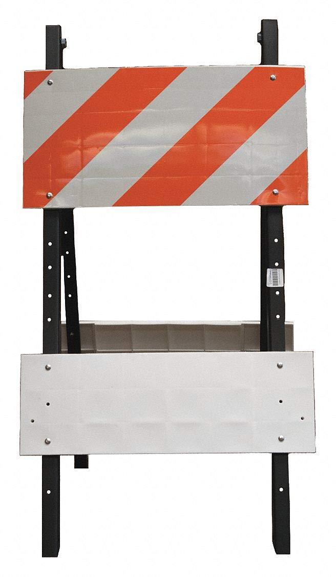 Leg Frame, Type 1, 41'' x 41'' x 24'', Orange/White