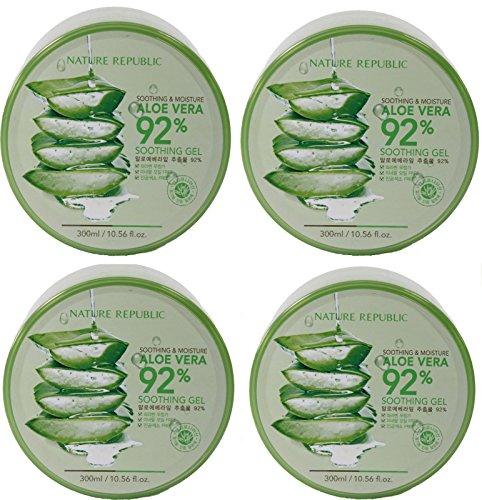 Nature Republic Skin Soothing Moisture Aloe Vera 92% Natural