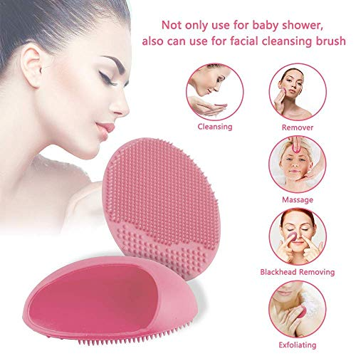 Qise Electric Silicone Facial Cleanser, Personalized Facial Cleansing Brush Anti-Aging Face Massager for Combination Skin in...