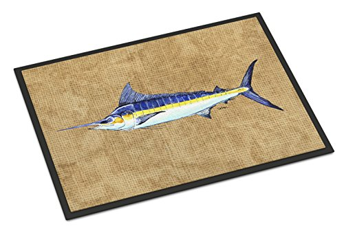 Caroline's Treasures 8818JMAT Blue Marlin Indoor or Outdoor Mat, 24