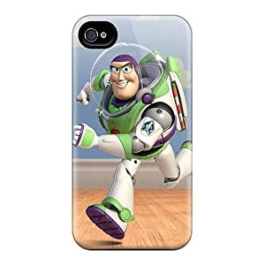 Hot Xsu16534wbPI Cases Covers Protector For Samsung Galaxy S6- Buzz Lightyear