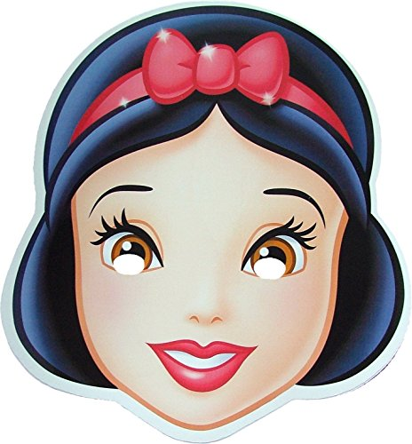 Disney Princess Snow White - Card Face Mask]()