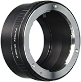 Fotasy Olympus OM Manual Lens to Canon EOS M EF-M Mirrorless Camera Adapter, fits Canon M1, M2, M3, M5, M6, M10 Mirrorless Camera