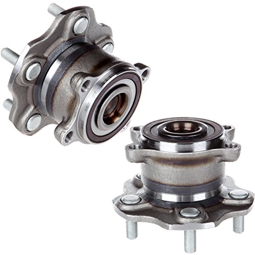 SCITOO Wheel Hub Bearing for Nissan Altima Mitsubishi RVR Infiniti JX35 QX60 2007-2016 Compatible for OE 512388 Rear 5 Bolts (2 Packs)