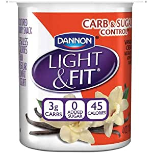 Amazon.com : Light and Fit Vanilla Cream Carb and Sugar