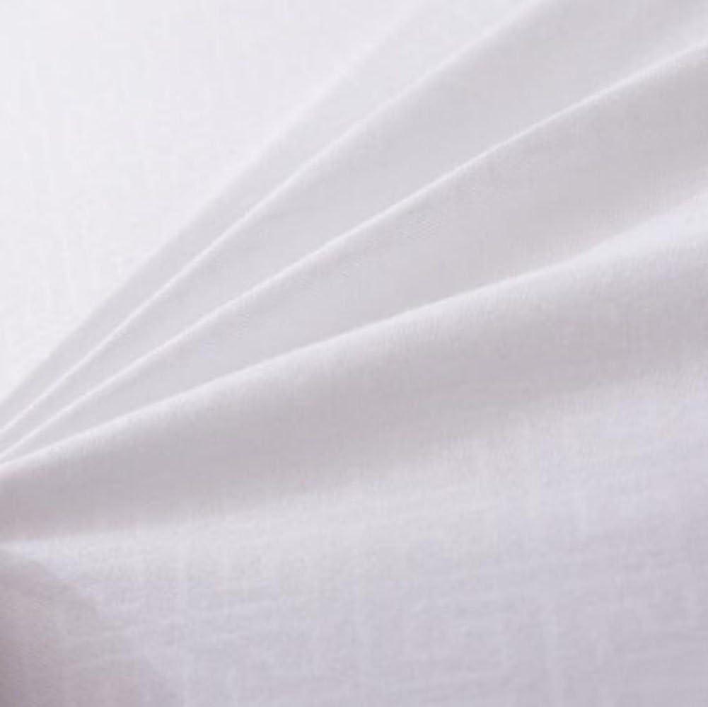 JUNGEN 45X45cm Canap/é Coussin Couvre-lit PP Coton Lin carr/é Couvre-lit d/écoratif Noyau doreiller Noyau de Coussin Couverture de Coussin Blanc 1