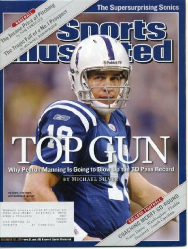 (Sports Illustrated December 20 2004 Peyton Manning/Indianapolis Colts, IU Basketball)
