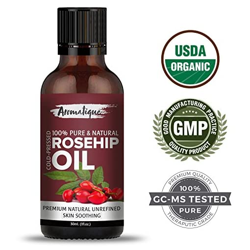 Aromatique Rosehip Seed Oil Pure Natural Cold Pressed Ther