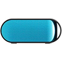 Simpiz Bluetooth 4.0 Portable Wireless Speaker NFC Water Resistant with YAMAHA DSP Built in Mic for Hands Free Calling, 10W 10m 10hr Playtime Battery for iPhone, iPad, Samsung, MP3, laptop, PC (Blue)