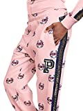 Vs pink Victoria's Secret Pink New Logo Bling Limited Edition Campus Slouchy Pant Candy Large NWT