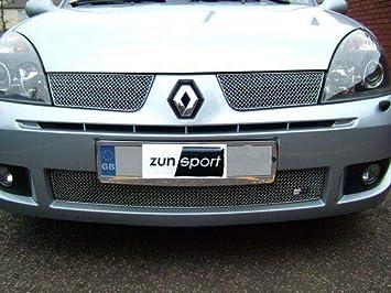 Renault Clio Aftermarket ZRN9304 - Juego de Parrilla Delantera Completa para Deporte: Amazon.es: Coche y moto