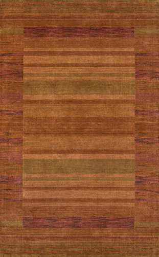 (Momeni Rugs GRAMEGM-15RST3656 Gramercy Collection, 100% Wool Hand Loomed Contemporary Area Rug, 3'6