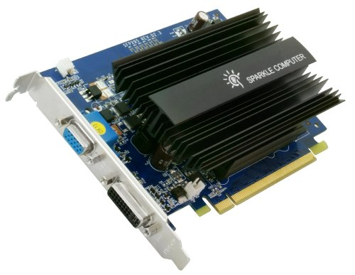 (SPARKLE SFPX95GT1024U2H GeForce 9500 GT 1GB GDDR2 PCI-EXPRESS 2.0 HDTV S-Video Graphics Card)