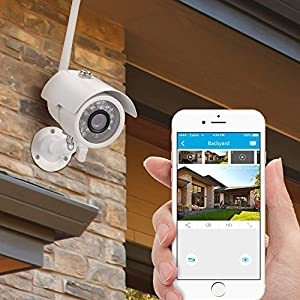 Zmodo 720P HD Smart Wireless Surveillance Camera Wifi Outdoor Security Camera