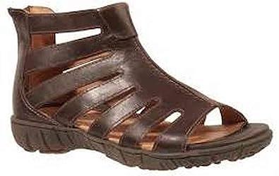 93121c19f3a Sanita 443694 Women s Sangria Dagny Leather Closed Back Sandal Dark Brown  36 M EU (Women s