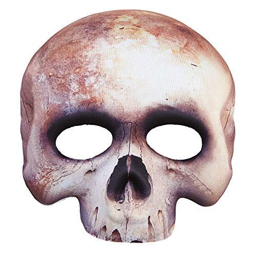 Adults Chinless Skull Fabric Mask