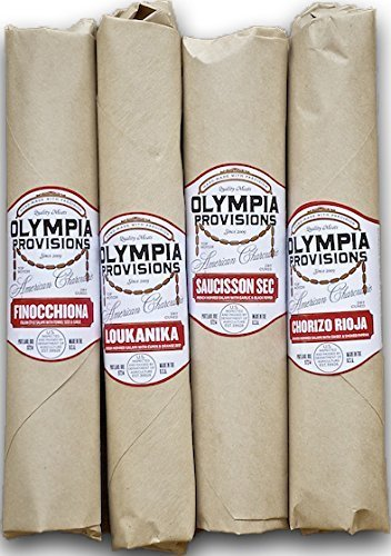 Olympia Provisions - European Salami Sampler - Gourmet Charcuterie Gift Set by Olympia Provisions
