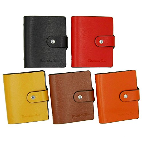Ramble On Genuine Leather Business Card / Credit Card Holder - Compact Storage - Holds up to 80 Business Cards or 40 Credit Cards - for All your Important Cards - Comes in a Great Gift Box (Brown) Photo #6