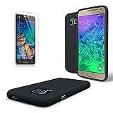 Samsung Galaxy Alpha Case, Cellto [Scratch Resistant] Super Slim Case / Cover with TPU Bumper [SM-N910S / SM-N910C] (Black)