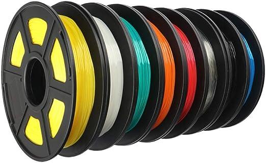 JFCUICAN Impresora 3D TPU filamento Flexible Suave 3D Material de ...