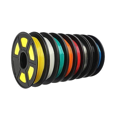 3D Tamaño de impresión TPU filamento Flexible Suave 3D Material de ...