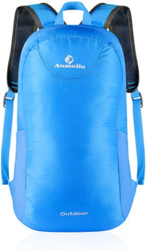 JTWJ 防水旅行折りたたみバックパックアウトドアバッグスポーツレジャーハイキングバックパックアウトドアライトスキンパック (Color : 2)
