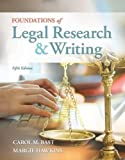 Foundations of Legal Research and Writing 5th Edition