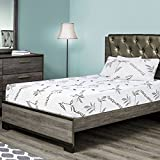 Customize Bed Queen Mattress Memory Foam with Bamboo Cover, 10 Inch- CertiPUR-US Certified