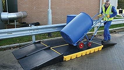 Workfloor Ramp Yellow Shield