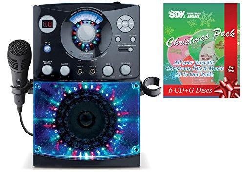 Singing Machine SML-385 CDG Karaoke Machine & Christmas Songs Pack -  Ace Karaoke, HSMGAI0385+SSDKXM01EG