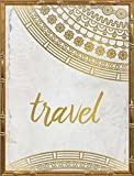 18x24 Wander Henna Gold 3 by Allen, Kimberly: Gold Bamboo KA-RC-241C1