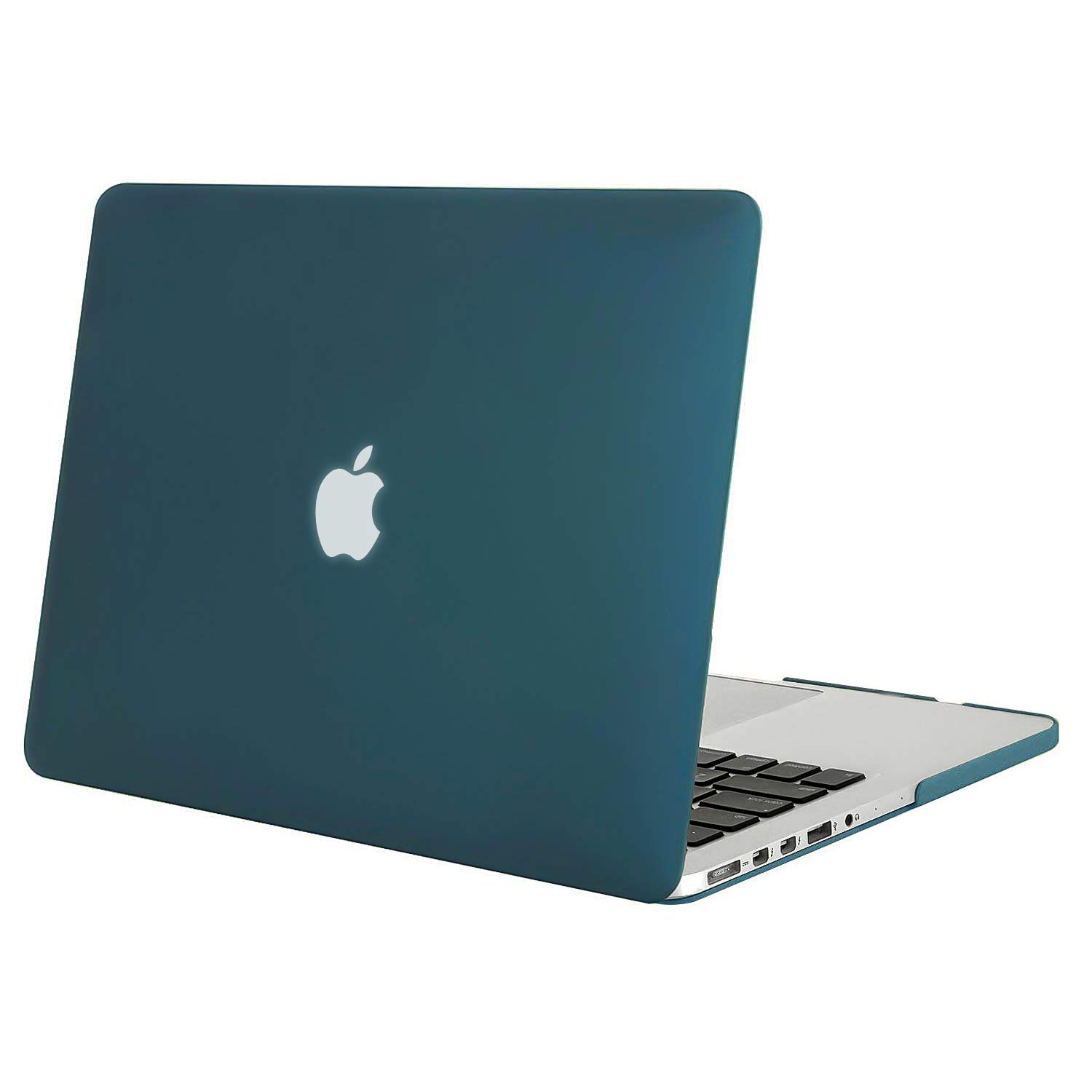No Touch Bar Model: A1398, Version mid 2015//2014//2013//mid 2012 Retina 15 Inch No CD-Rom Deep Teal MOSISO Plastic Hard Shell Case Snap On Cover Only Compatible MacBook Pro