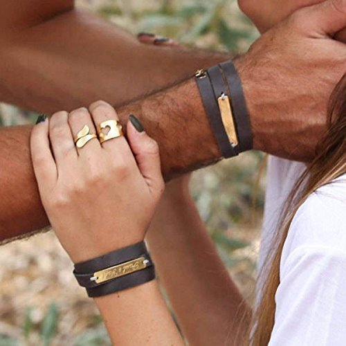 Amazon Com Handmade Personalized Bracelet For Couples By Galis