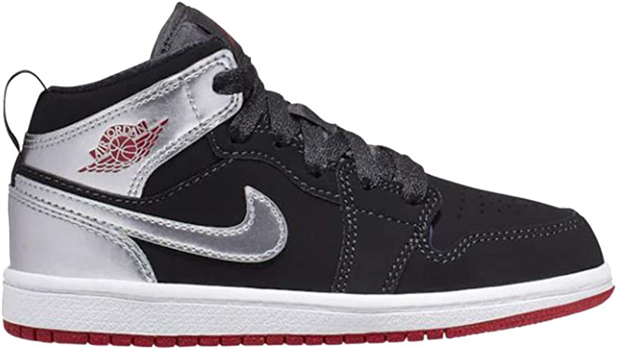 Pre Schoo Sizes Nike Air Jordan Retro 1 Mid Athletic Fashion Sneakers 640734 041
