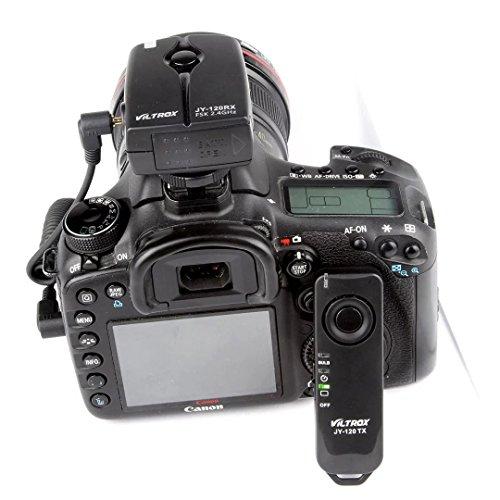 Viltrox 무선 원격 제어 셔터 릴리즈, 단일 샷, 카메라의 저속 촬영 DSLR 캐논 EOS 1200D 70D 700D 650D 60D 550D 600D 1100D 1000D/Viltrox Wireless Remote Control Shutter Release, Single Shot, Time-lapse Shot for Cameras DSLR Canon EOS 12...