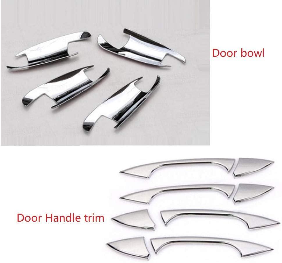 Car Door Handle Trim Tianrui Crown Chrome Car Door Handle Trim Door Bowl Decoration For Merceds Bez GLK//GL//ML//C Class W204 X204 Car Styling Accessories