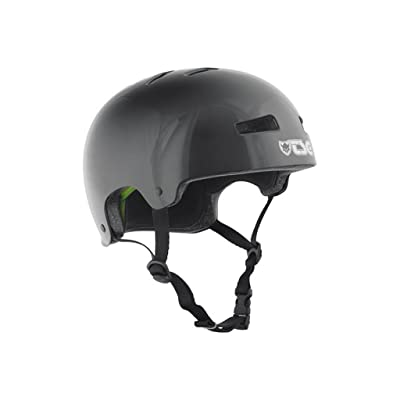 TSG Evolution Skateboard Helmet | CPSC Certified with EPS Impact Foam | Hard Shell Action Sports Head Protection with Customized Fit