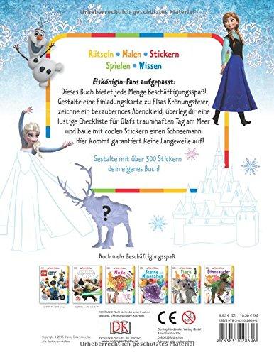 Das Mach-Malbuch. Disney Die Eiskönigin: Völlig unverfroren: Amazon ...