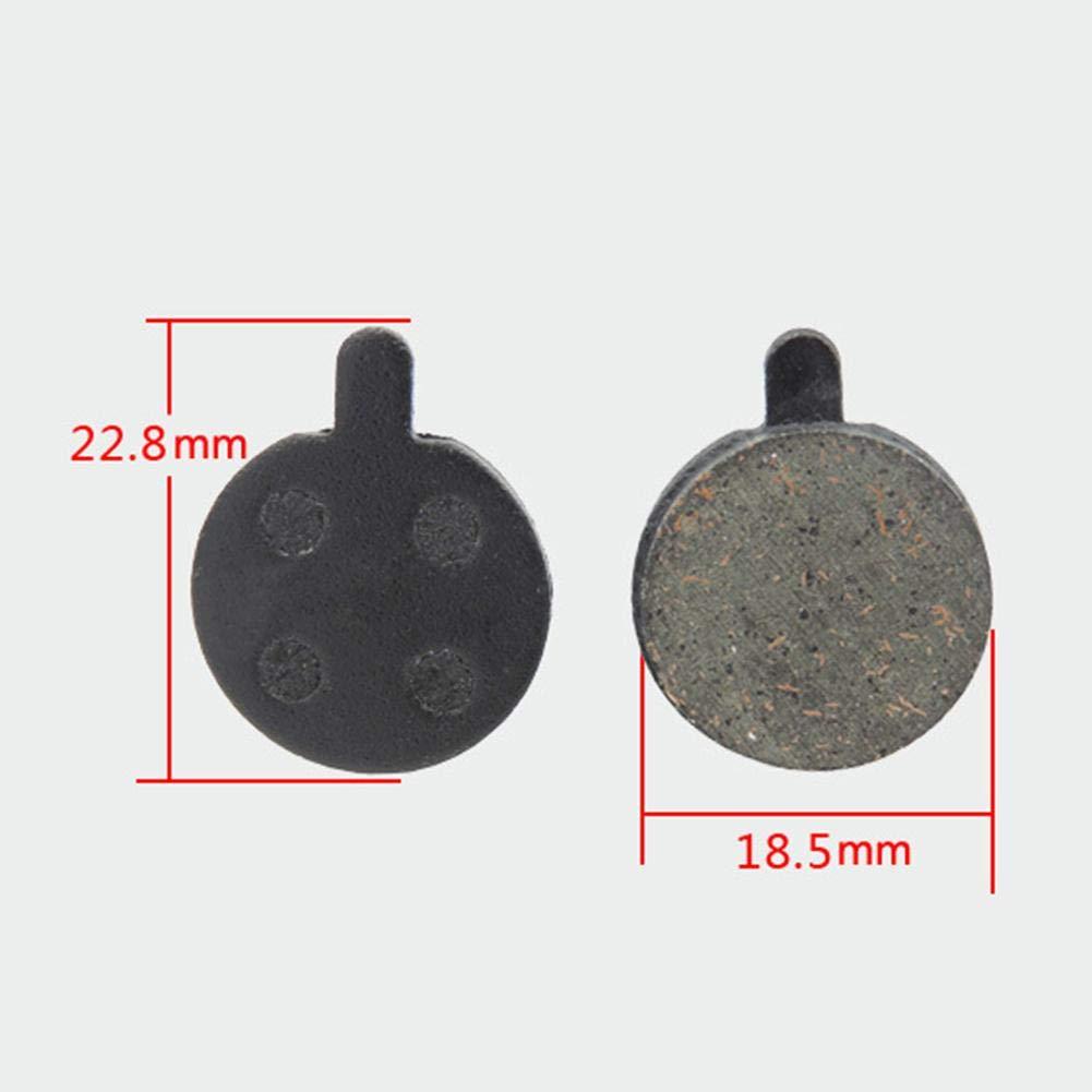 Tuankay 1/paire R/ésine VTT Plaquettes de frein /à disque pour Zoom 5/pi/èces de v/élo
